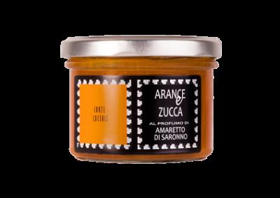 Oranges & Pumpkin preserve scented with amaretto