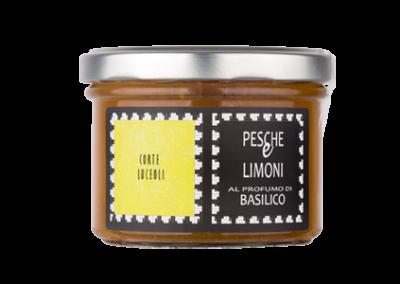 Composta Pesche & Limoni al profumo di Basilico