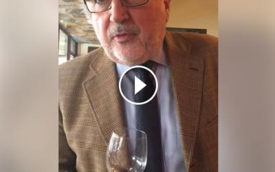 Otello Renzi ci regala una degustazione guidata dell' Acquavita di Visciole